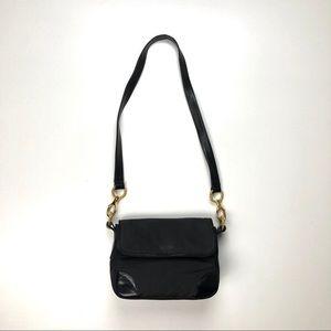 KLEINBERG SHERRILL Vintage Black Shoulder Bag